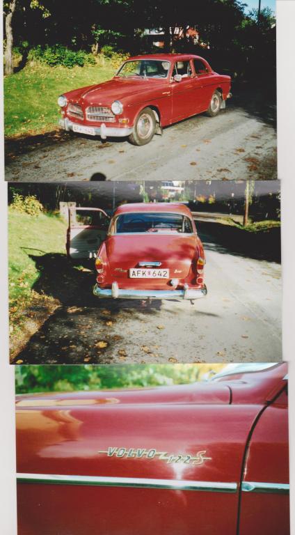 En bättre bild på min röda Ferrari. 1964 Sport med OD